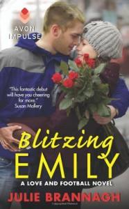 By Julie Brannagh Blitzing Emily: A Love and Football Novel [Mass Market Paperback] - Julie Brannagh