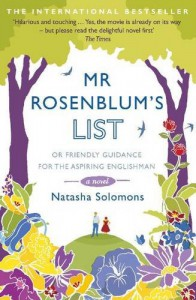Mr. Rosenblum's List: or Friendly Guidance For The Aspiring Englishman - Natasha Solomons