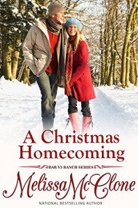 A Christmas Homecoming (Bar V5 Ranch) - Melissa McClone