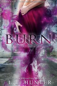 Burn (Hidden Magic Book 1) - L.L. Hunter, Desiree DeOrto, Rogena Mitchell- Jones