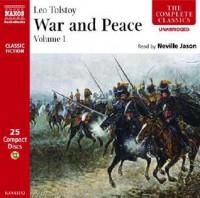 War & Peace, Volume 1 - Leo Tolstoy, Neville Jason