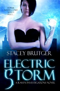 Electric Storm (A Raven Investigations Novel Book 1) - Stacey  Brutger