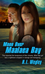 Moon over Maalaea Bay - H.L. Wegley