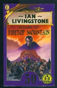Return to Firetop Mountain (Puffin Adventure Gamebooks) - Ian Livingstone