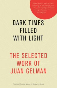 Dark Times Filled with Light - Juan Gelman, Hardie St. Martin