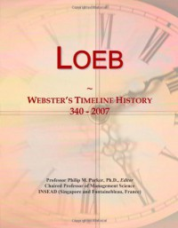 Loeb: Webster's Timeline History, 340 - 2007 - Icon Group International