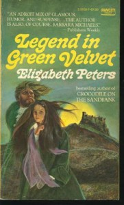 Legend in Green Velvet - Elizabeth Peters