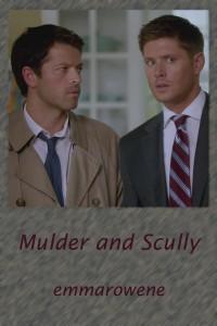 Mulder and Scully - emmarowene