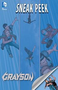 DC Sneak Peek: Grayson (2015) #1 - Tim Seeley, Tom King, Mikel Janin