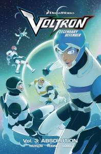 Voltron Legendary Defender volume 3: Absolution - Mitch Iverson