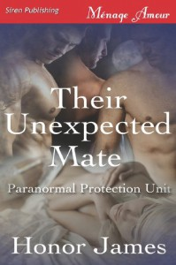 Their Unexpected Mate  - Honor James