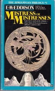 Mistress of Mistresses: A Vision of Zimiamvia  - E.R. Eddison, Keith Henderson, Gerald Ravenscourt Hayes