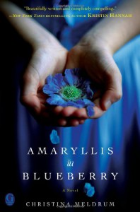 Amaryllis in Blueberry - Christina Meldrum