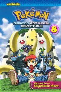 Pokémon: Diamond and Pearl Adventure!, Vol. 8 - Shigekatsu Ihara