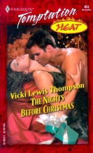 The Nights Before Christmas (Heat #6) - Vicki Lewis Thompson