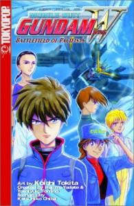 Gundam Wing: Battlefield of Pacifists - Katsuhiko Chiba, Yoshiyuki Tomino