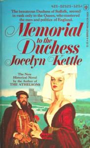 Memorial To The Duchess - Jocelyn Kettle