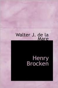 Henry Brocken - Walter de la Mare