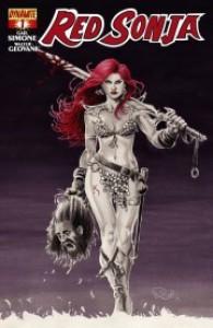Red Sonja #1 (Red Sonja v2, #1) - Gail Simone, Walter Geovani