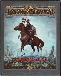 The Forgotten Realms Campaign Set (AD&D Fantasy Roleplaying, 2books + 4maps + HexGrid) - Ed Greenwood;Jeff Grubb