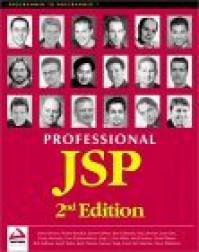 Professional JSP 2nd Edition - Simon  Brown, Jayson Falkner
