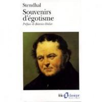 Souvenirs d'égotisme - Stendhal