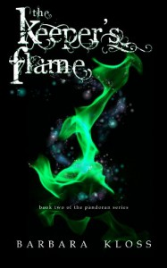 The Keeper's Flame (A Pandoran Novel, #2) - Barbara Kloss