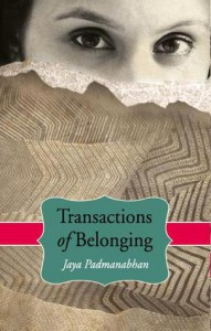 Transactions of Belongings - Jaya Padmanabham