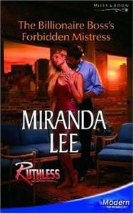 The Billionaire Boss's Forbidden Mistress - Miranda Lee