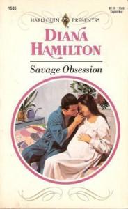 Savage Obsession (Harlequin Presents) - Diana Hamilton