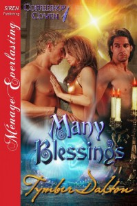 Many Blessings [Coffeeshop Coven 1] (Siren Publishing Menage Everlasting) - Tymber Dalton