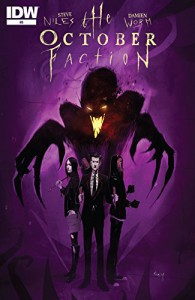 The October Faction #8 - Damien Worm, Steve Niles