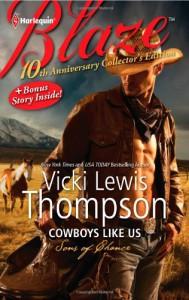 Cowboys Like Us: Cowboys Like UsNotorious (Harlequin Blaze) - Vicki Lewis Thompson