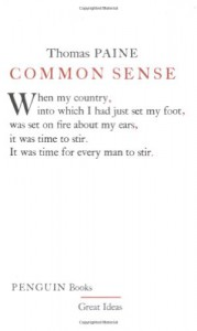 Common Sense (Great Ideas) - Thomas Paine