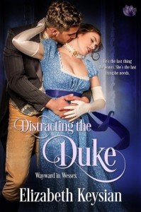 Distracting the Duke - Elizabeth Keysian