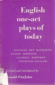 English One Act Plays Of Today - Donald Fitzjohn