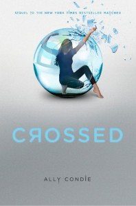 Crossed (Matched, #2) - Ally Condie,  Kate Simses,  Jack Riccobono