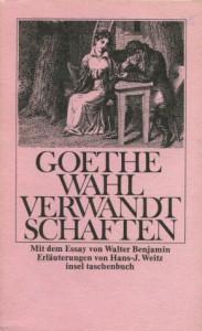 Die Wahlverwandtschaften. Ein Roman - Johann Wolfgang von Goethe