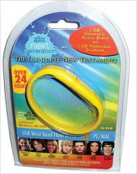 Word of Promise Next Generation - New Testament: Dramatized Audio Bible on USB Bracelet (ICB) - Anonymous