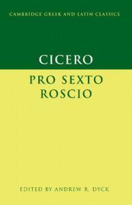 Pro Sexto Roscio - Cicero