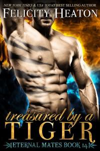 Treasured by a Tiger - Felicity E. Heaton