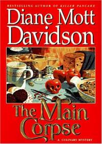The Main Corpse (Audio) - Diane Mott Davidson, Barbara Rosenblat