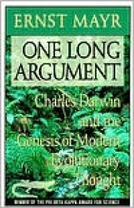 One Long Argument - Ernst Mayr