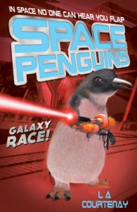 Space Penguins Galaxy Race - Lucy Courtenay