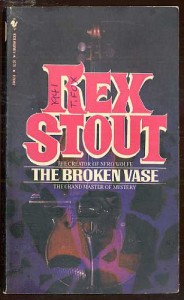 The Broken Vase - Rex Stout