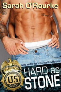Hard as Stone (Passion in Paradise:  The Men of the McKinnnon Sisters Book 2) - Sarah O'Rourke