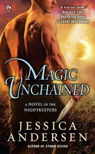 Magic Unchained (Nightkeepers, #7) - Jessica Andersen