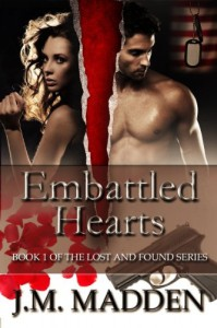 Embattled Hearts (Lost and Found, #1) - J.M. Madden