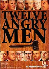 Twelve Angry Men (Library Edition Audio CDs) - Reginald Rose, John de Lancie, Dan Castellaneta, Hector Elizondo