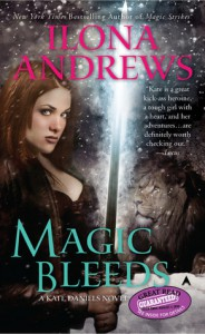 Magic Bleeds (Kate Daniels, #4) - Ilona Andrews